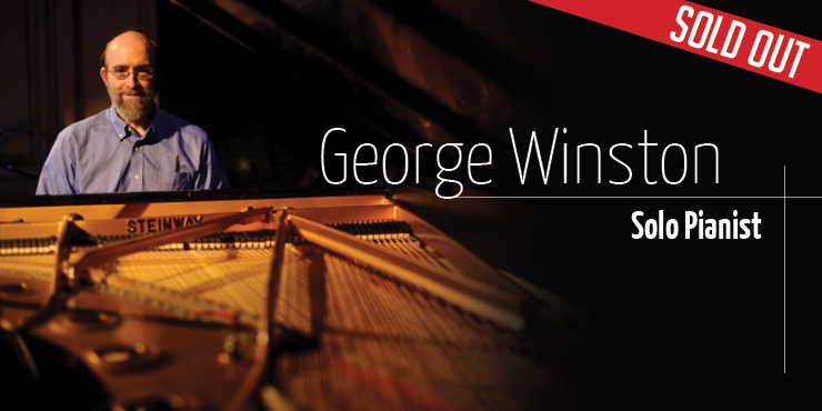 Pianist George Winston at Wright Opera House