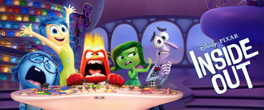 Movie presentation of Inside Out at the Wright Opera House