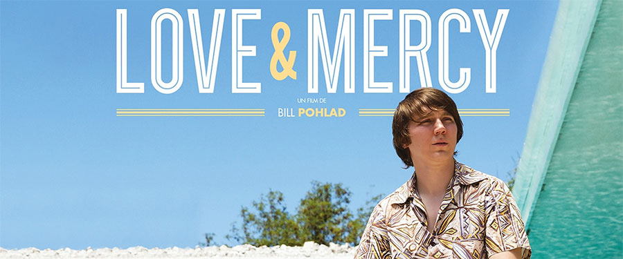 Movie presentation of Love & Mercy at the Wright Opera House