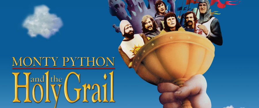 Movie presentation ofMonty Python and the Holy Grail at the Wright Opera House