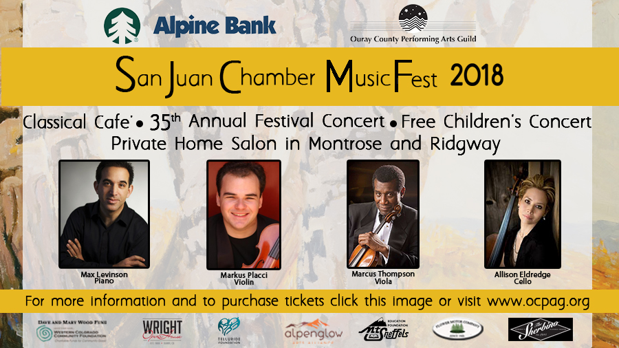 San Juan Chamber MusicFest at the Wright Opera House