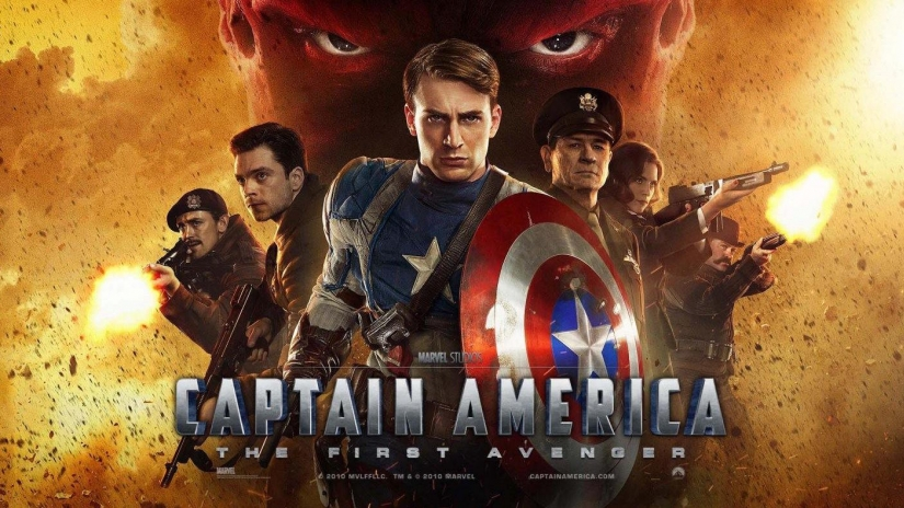 Captain America at the Wright Opera House