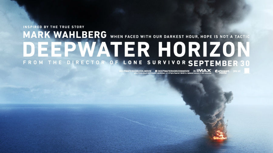 Movie presentation of Deepwater Horizon at the Wright Opera House
