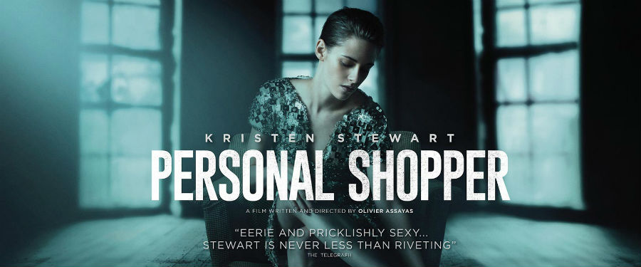 Movie presentation of Personal Shopper at the Wright Opera House