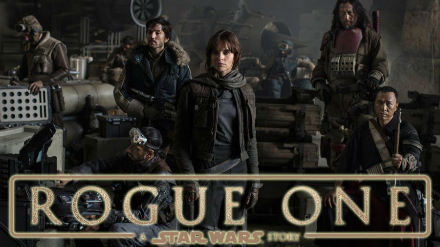 Movie presentation of Rogue One at the Wright Opera House