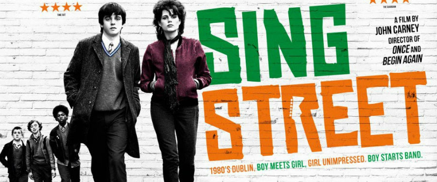 Movie presentation of Sing Street at the Wright Opera House