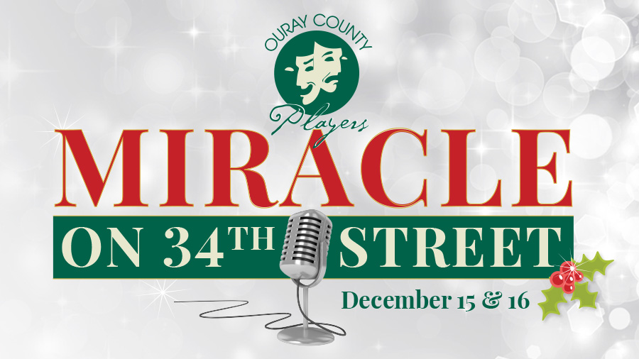 Theater production of Miracle on 34th Street
